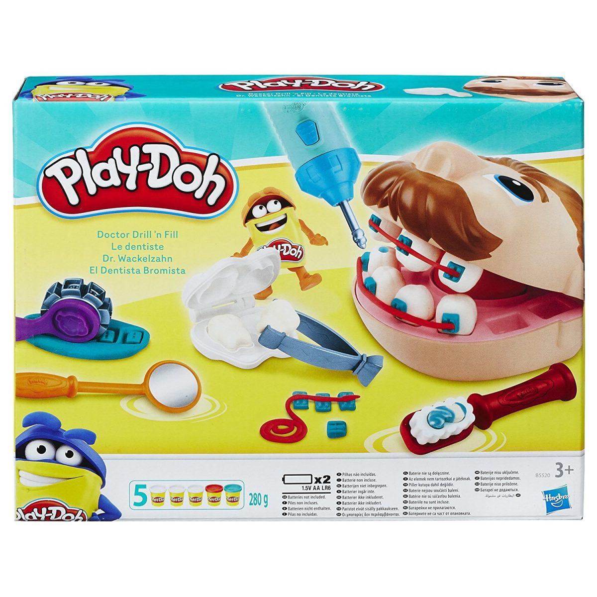 El dentista bromista – Juego de Play Doh
