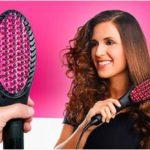 cepillo eléctico alisador glam brush